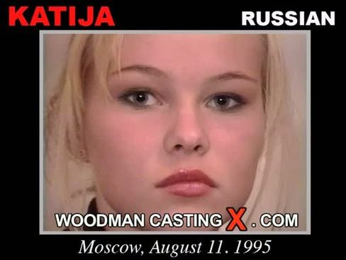 Katia - `Katia casting` - by Pierre Woodman for WOODMANCASTINGX