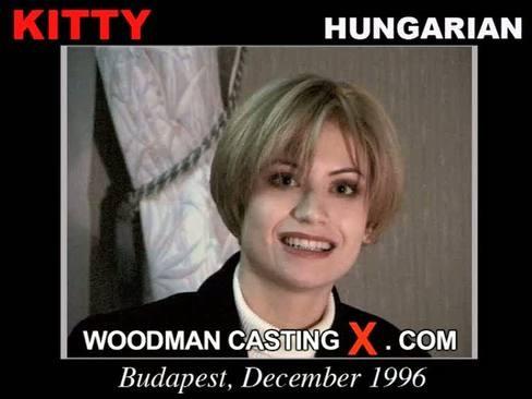 Kitty - `Kitty casting` - by Pierre Woodman for WOODMANCASTINGX