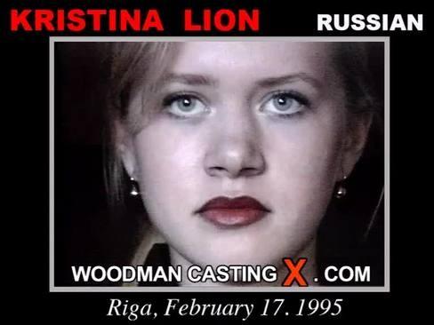 Kristina Lion - `Kristina Lion casting` - by Pierre Woodman for WOODMANCASTINGX