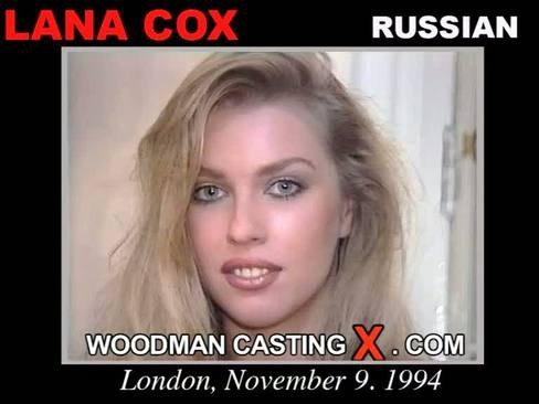 Lana Cox - `Lana Cox casting` - by Pierre Woodman for WOODMANCASTINGX