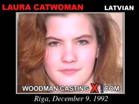 Laura Catwoman - `Laura Catwoman casting` - by Pierre Woodman for WOODMANCASTINGX
