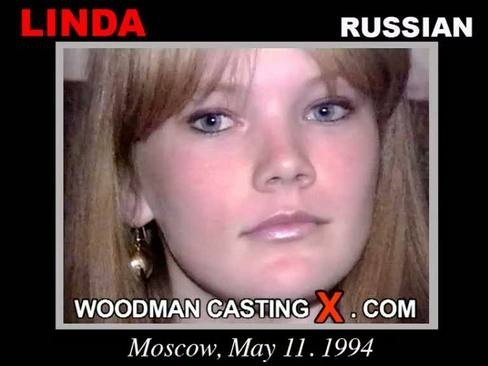 Linda - `Linda casting` - by Pierre Woodman for WOODMANCASTINGX