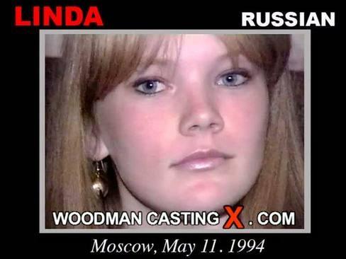 Linda - `Linda casting` - by Pierre Woodman for WOODMANCASTINGX