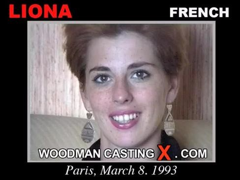 Liona - `Liona casting` - by Pierre Woodman for WOODMANCASTINGX