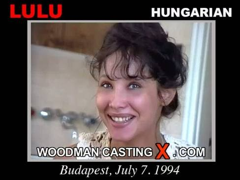 Lulu - `Lulu casting` - by Pierre Woodman for WOODMANCASTINGX