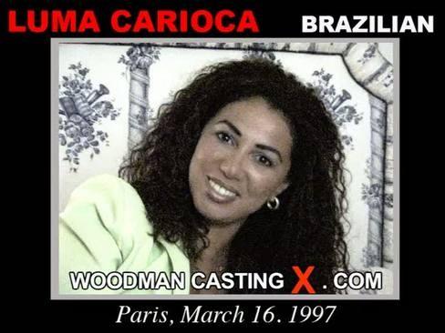 Luma Carioca - `Luma Carioca casting` - by Pierre Woodman for WOODMANCASTINGX