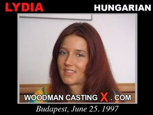 Lydia - `Lydia casting` - by Pierre Woodman for WOODMANCASTINGX