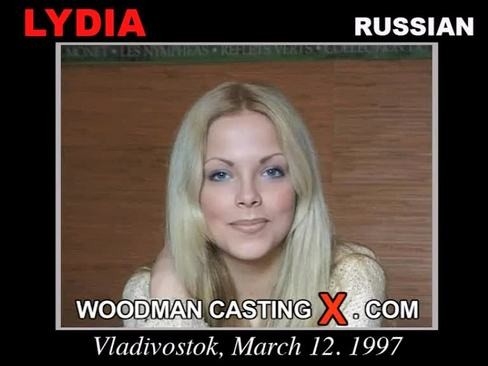 Lydia - `Lydia casting` - by Pierre Woodman for WOODMANCASTINGX