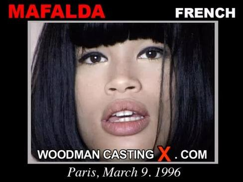 Mafalda - `Mafalda casting` - by Pierre Woodman for WOODMANCASTINGX