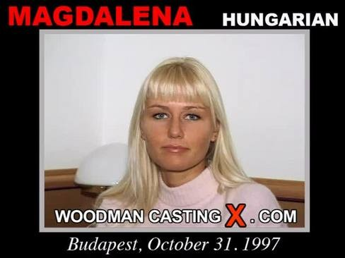 Magdalena - `Magdalena casting` - by Pierre Woodman for WOODMANCASTINGX
