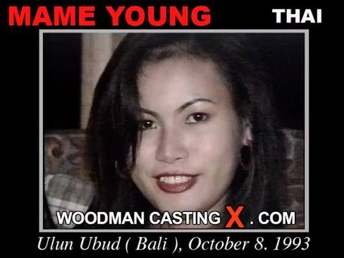 Mame Youn - `Mame Youn casting` - by Pierre Woodman for WOODMANCASTINGX