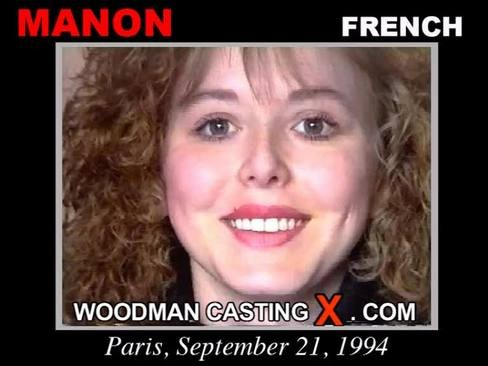Manon - `Manon casting` - by Pierre Woodman for WOODMANCASTINGX