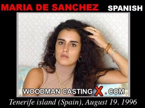 Maria De Sanchez - `Maria De Sanchez casting` - by Pierre Woodman for WOODMANCASTINGX