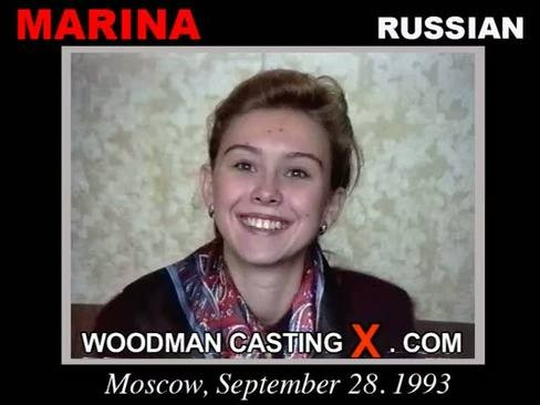 Marina - `Marina casting` - by Pierre Woodman for WOODMANCASTINGX