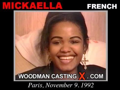 Mickaella - `Mickaella casting` - by Pierre Woodman for WOODMANCASTINGX