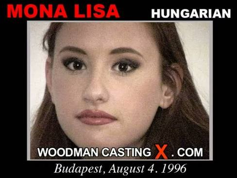 Mona Lisa - `Mona Lisa casting` - by Pierre Woodman for WOODMANCASTINGX