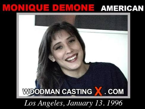 Monique Demone - `Monique Demone casting` - by Pierre Woodman for WOODMANCASTINGX