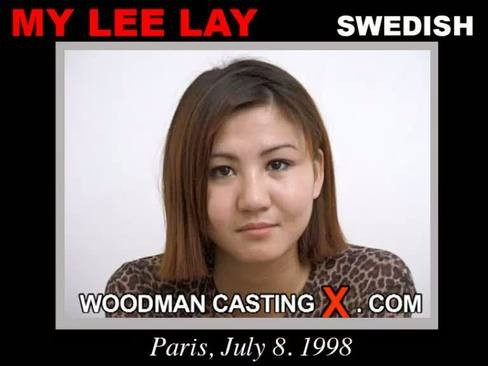My Lee Lay - `My Lee Lay casting` - by Pierre Woodman for WOODMANCASTINGX