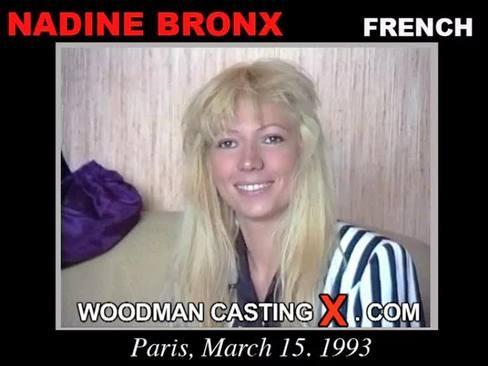 Nadine Bronx - `Nadine Bronx casting` - by Pierre Woodman for WOODMANCASTINGX