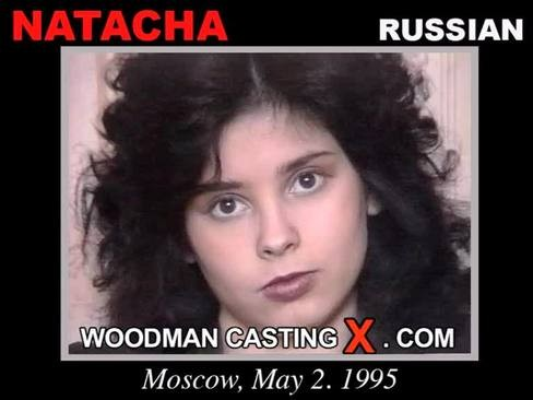 Natacha - `Natacha casting` - by Pierre Woodman for WOODMANCASTINGX