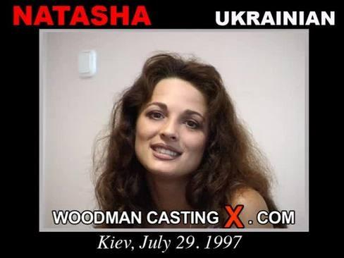 Natasha - `Natasha casting` - by Pierre Woodman for WOODMANCASTINGX