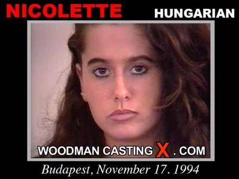 Nicolette - `Nicolette casting` - by Pierre Woodman for WOODMANCASTINGX