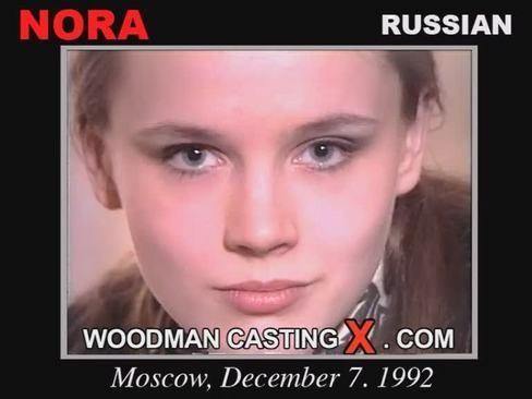 Nora - `Nora casting` - by Pierre Woodman for WOODMANCASTINGX