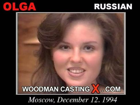 Olga - `Olga casting` - by Pierre Woodman for WOODMANCASTINGX
