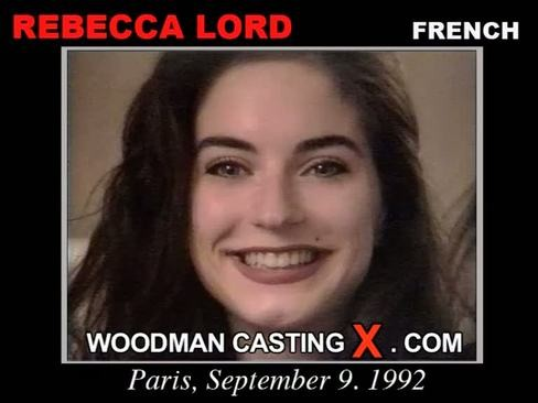 Rebecca Lord - `Rebecca Lord casting` - by Pierre Woodman for WOODMANCASTINGX