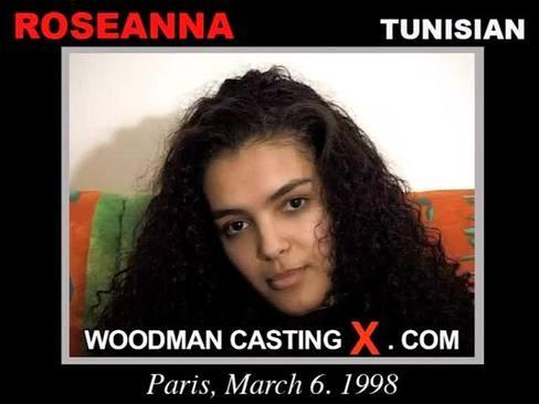 Roseanna - `Roseanna casting` - by Pierre Woodman for WOODMANCASTINGX