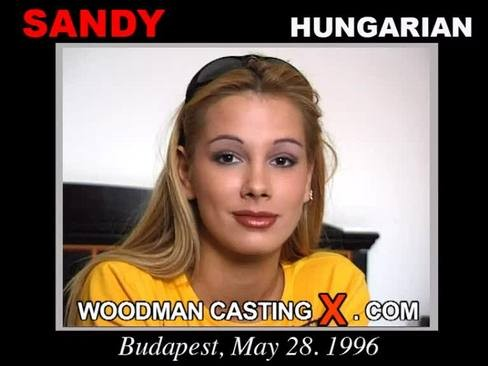 Sandy - `Sandy casting` - by Pierre Woodman for WOODMANCASTINGX