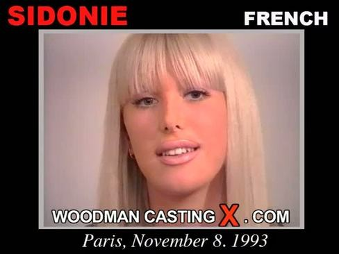 Sidonie - `Sidonie casting` - by Pierre Woodman for WOODMANCASTINGX