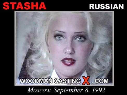 Stasha - `Stasha casting` - by Pierre Woodman for WOODMANCASTINGX