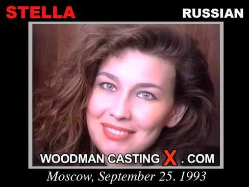 Stella - `Stella casting` - by Pierre Woodman for WOODMANCASTINGX