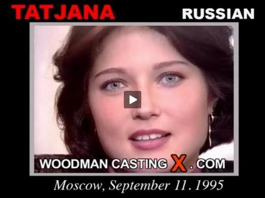 Tatjana - `Tatjana casting` - by Pierre Woodman for WOODMANCASTINGX