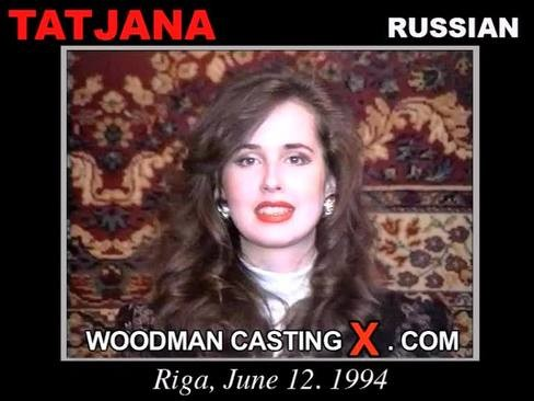 Tatjana - `Tatjana casting` - by Pierre Woodman for WOODMANCASTINGX