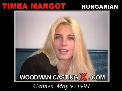 Timea Margot - `Timea Margot casting` - by Pierre Woodman for WOODMANCASTINGX