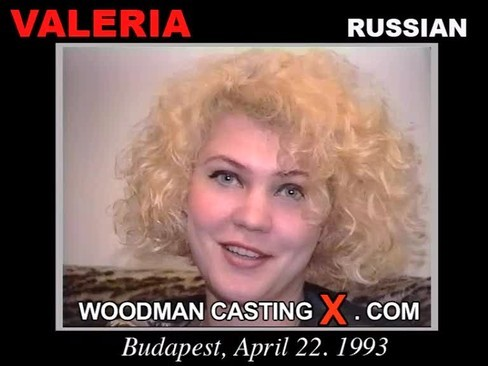 Valeria - `Valeria casting` - by Pierre Woodman for WOODMANCASTINGX