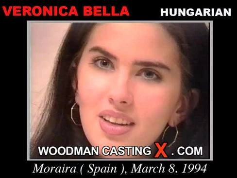 Veronica Bella - `Veronica Bella casting` - by Pierre Woodman for WOODMANCASTINGX