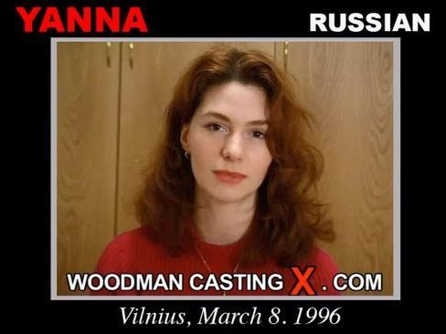 Yanna - `Yanna casting` - by Pierre Woodman for WOODMANCASTINGX