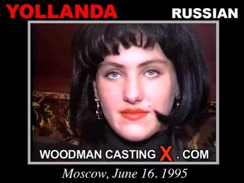 Yollanda - `Yollanda casting` - by Pierre Woodman for WOODMANCASTINGX