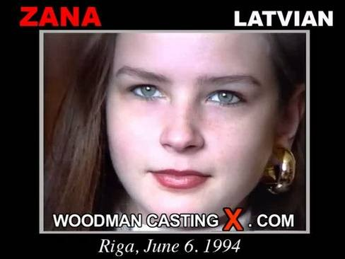 Zana - `Zana casting` - by Pierre Woodman for WOODMANCASTINGX