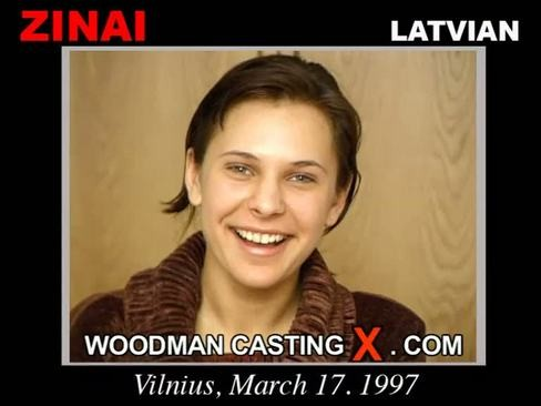 Zinai - `Zinai casting` - by Pierre Woodman for WOODMANCASTINGX