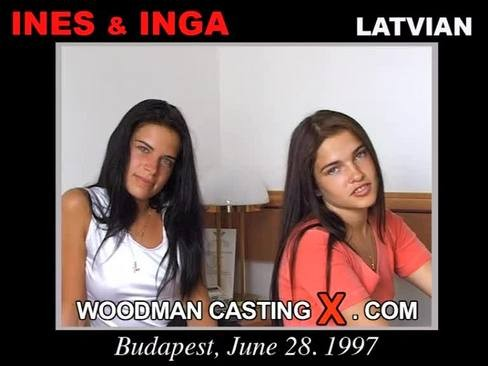 Inga and Ines - `Inga and Ines casting` - by Pierre Woodman for WOODMANCASTINGX
