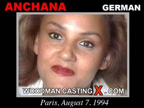 Andchana - `Andchana casting` - by Pierre Woodman for WOODMANCASTINGX