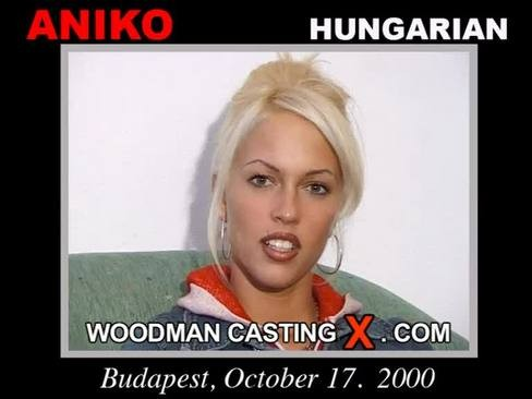Aniko - `Aniko casting` - by Pierre Woodman for WOODMANCASTINGX