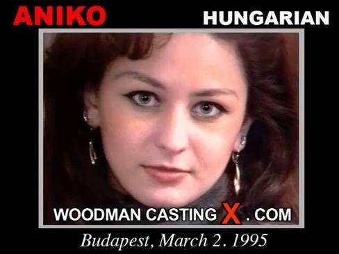 Aniko Arnal - `Aniko Arnal casting` - by Pierre Woodman for WOODMANCASTINGX