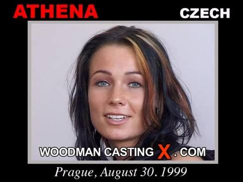 Athena - `Athena casting` - by Pierre Woodman for WOODMANCASTINGX