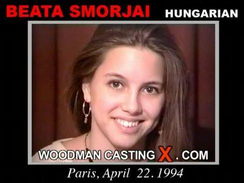 Beata Smorjai - `Beata Smorjai casting` - by Pierre Woodman for WOODMANCASTINGX