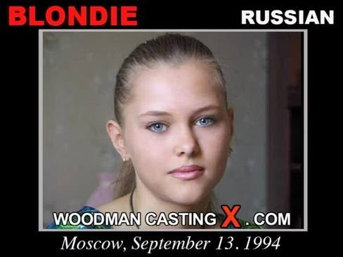 Blondie - `Blondie casting` - by Pierre Woodman for WOODMANCASTINGX